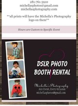 Photo Booth Station in Tomball, Texas