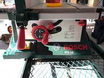 Bosch PTS 10 Table Saw in Ramstein, Germany