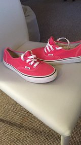 Pink Converse in Lakenheath, UK