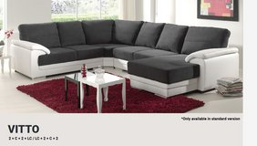 United Furniture - Vito Sectional with Chaise- Chaise also on opposite side - Two Tone or Solid ... in Ansbach, Germany