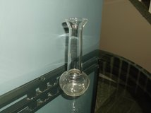 Clear Glass Bud Vase in Naperville, Illinois