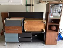 Free Ike Stand, TV Stand, Air Hockey Table and stuff in the picture in Naperville, Illinois