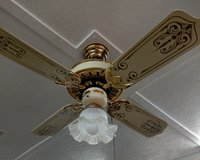 Casablanca ceiling fan with light in Plainfield, Illinois