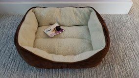 Pawtown Small Brown Pet Bed in Plainfield, Illinois