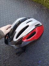 boys red bike helmet in Lakenheath, UK