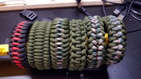 Paracord Bracelet in Fort Drum, New York
