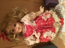 Doll Blond with Red dress in Stuttgart, GE