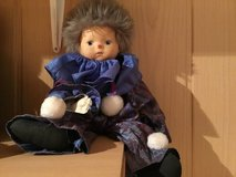 Doll cute with blue clothes in Stuttgart, GE