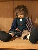 Doll Brunette with blue clothes in Stuttgart, GE