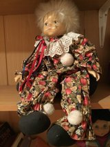 Doll Blond with brown and red clothing in Stuttgart, GE