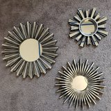 New Wall Mirror Set Silver in Fort Campbell, Kentucky