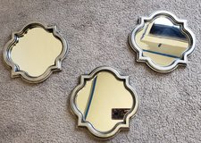 New Mosaic Wall Mirror Set Silver in Fort Campbell, Kentucky