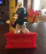 Vintage Happy Birthday Smurf in Bolingbrook, Illinois