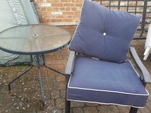 Patio Chairs, Cushions, and Table in Lakenheath, UK