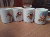 NORMAN ROCKWELL MUGS in Baytown, Texas