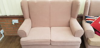2 seater sofa and arm chair in Lakenheath, UK