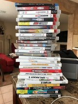 PS3 (14 Games); PS2 (3 Games); in Kingwood, Texas
