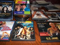 140 PLUS DVD MOVIES  SOME HAVE 3 DISC PER MOVIE  NO SINGLE SALES in Perry, Georgia