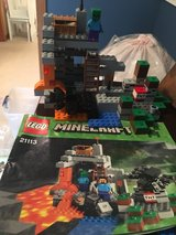 Lego Minecraft The cave in Joliet, Illinois