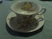 1) Castleton China Mayfair Cup and Saucer Set(s) YELLOW ROSE in Alamogordo, New Mexico