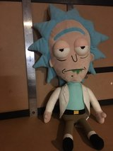 Rick from Rick and Morty Plush Toy in Bellaire, Texas