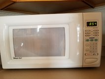 Microwave oven white in Naperville, Illinois