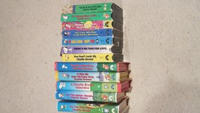 Peanuts VHS collection in Kingwood, Texas