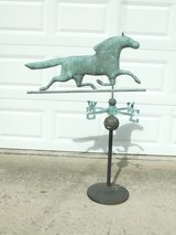 Copper Horse Weathervane / Stand ~ Antique in Chicago, Illinois