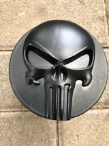 Punisher 3D Black emblem Metal Trailer Hitch Cover in Ramstein, Germany