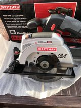 Craftsman 19.2 volt saw w/blade (tool only, as shown on box. Does not include battery/charger) in Okinawa, Japan