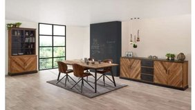 United Furniture - Geneve Dining Set made from (Recycled Teak) including delivery in Spangdahlem, Germany