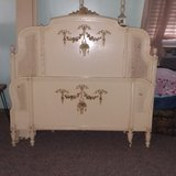 Shabby chic full antique french provincial bed in Spring, Texas