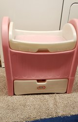 Little Tikes Baby Doll Changing Table/Bassinet in Aurora, Illinois