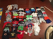 Baby Boy clothes 3-6 month (Lot) - 65pieces in Oswego, Illinois