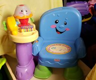 Fisher Price Laugh & Learn Song & Story Learning Chair in Joliet, Illinois