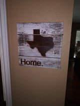 Wooden wall plaque in Spring, Texas