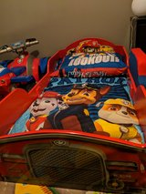 Paw patrol firetruck bed with mattress and comforter set in Hopkinsville, Kentucky