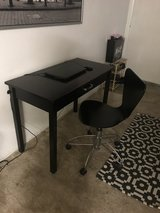 Desk with chair in Camp Pendleton, California