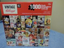 LOWERED PRICE Vintage Kellogg's cereal box puzzle in DeKalb, Illinois