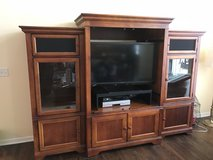 Walter E Smithe entertainment center / armoire / TV stand with free smart TV! in Yorkville, Illinois