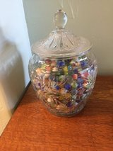 Antique Glass Jar w/old Marbles in Alamogordo, New Mexico