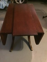 Antique Dunkin Phyfe Drop leaf table in Alamogordo, New Mexico