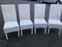 Set of 4 Wicker Chairs in Lakenheath, UK