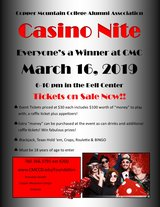 Copper Mountain College Alumni Association Casino Nite in 29 Palms, California