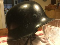WWll German Style firefighter/police helmet in Stuttgart, GE