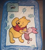 Winnie the PooH baby blanket in Fort Benning, Georgia