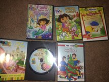 Dora & Caillou DVDs in Aurora, Illinois