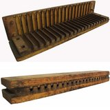 Vintage German wooden cigar molds in Fort Knox, Kentucky