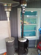 mosaic patio heater in Bellaire, Texas