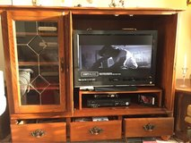 tv cabinet with display case in Wheaton, Illinois